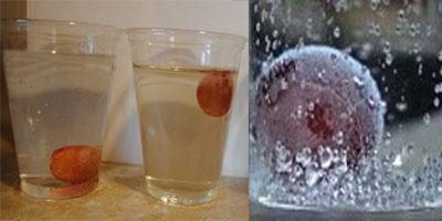 опыты для детей с виноградом