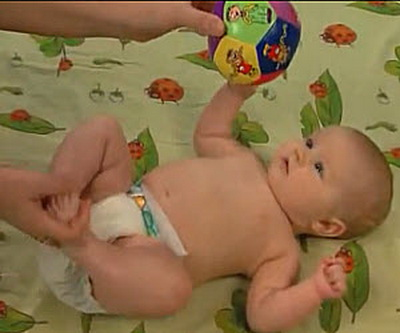 ребенок в 3-4 месяца