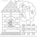 раскраски для дошкольников