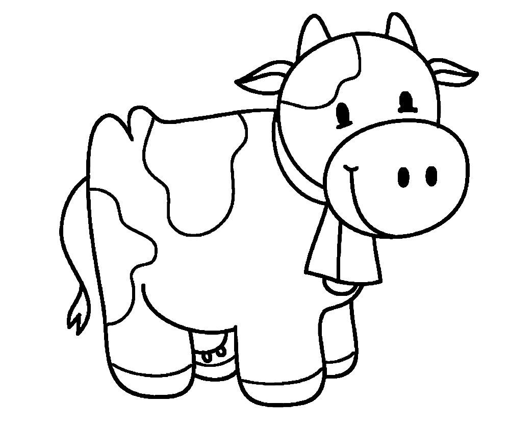 Раскраска для детей 2-3 года распечатать