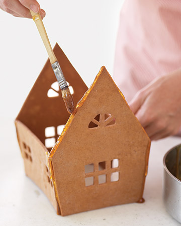 пряничный домик своими руками