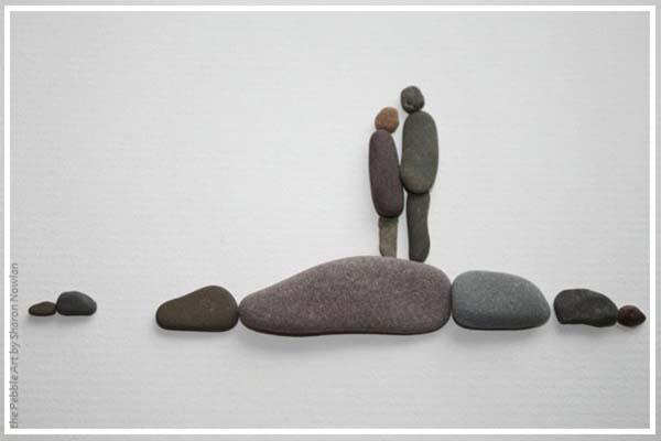 картины из камней