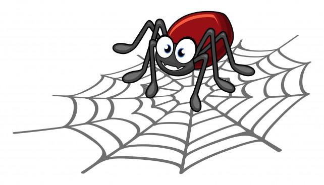 Рисунок паука картинки