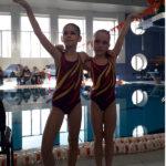 синхронное плаванье для детей